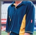 Picture of Gray Nicolls 3/4 Gold/Green Pro Team Shirt