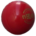 Picture of Cricket Ball SG Ever Last PVC Red