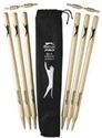 Picture of Slazenger Pro Polished Cricket Stumps
